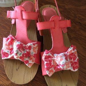 Osh Kosh b'gosh sandals little girl's size 12